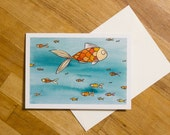 Fish Greeting Cards, Fish...