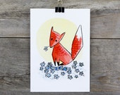 Fox in the Flowers 5&quot...