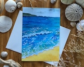 Oceanside Blank All Occasions Greeting Card