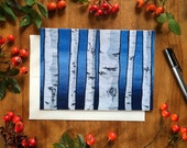 Birch, Please All Occassions Greeting Card