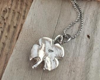 Shamrock Necklace, St Patricks Day Gifts, Clover necklace, Irish Necklace, Irish Gifts, Going Away Gift, Good Luck Necklace