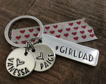 Free shipping Girl Scouts inspired Key chain key fob MAKES A GREAT GIFT