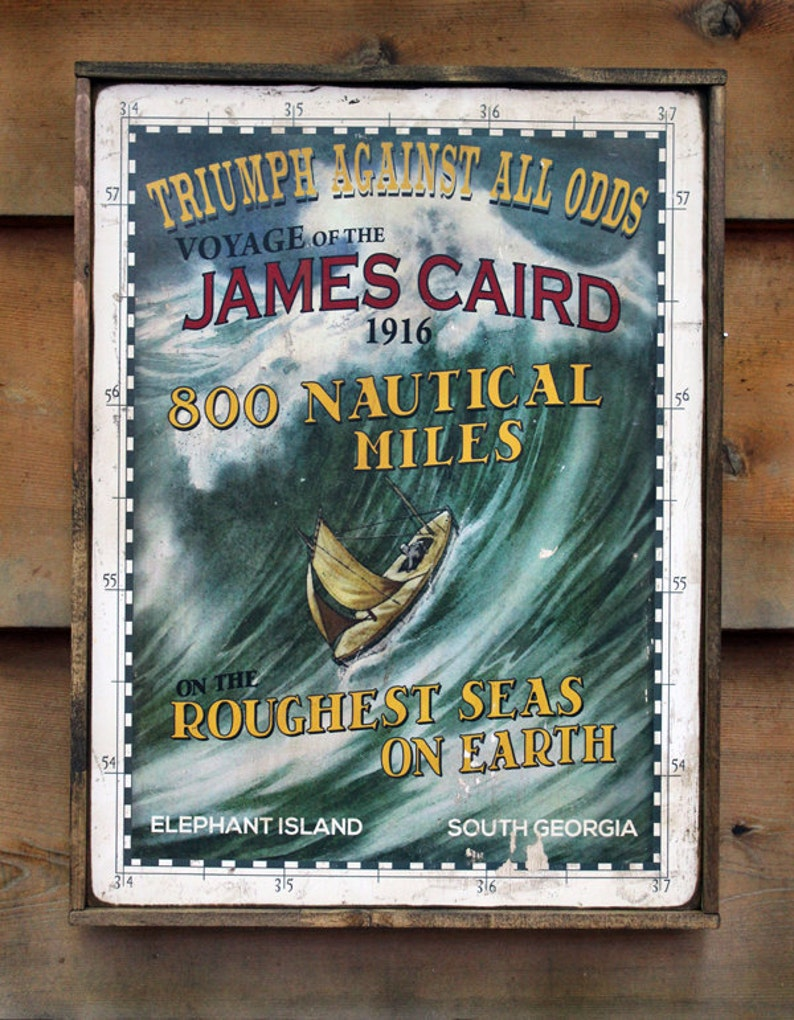 Vintage wooden sign 'Triumph Against All Odds' image 0