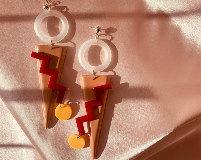 Hot Dog! Earrings