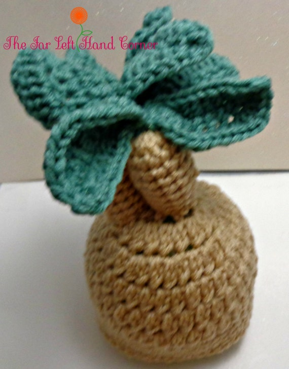 Baby Mandrake inspired Crochet Hat Photo Prop  a04867da307