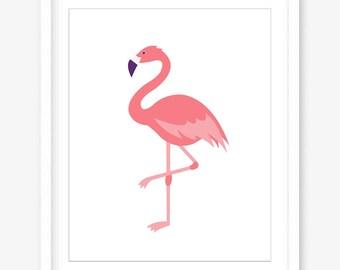 Agile image for flamingo printable