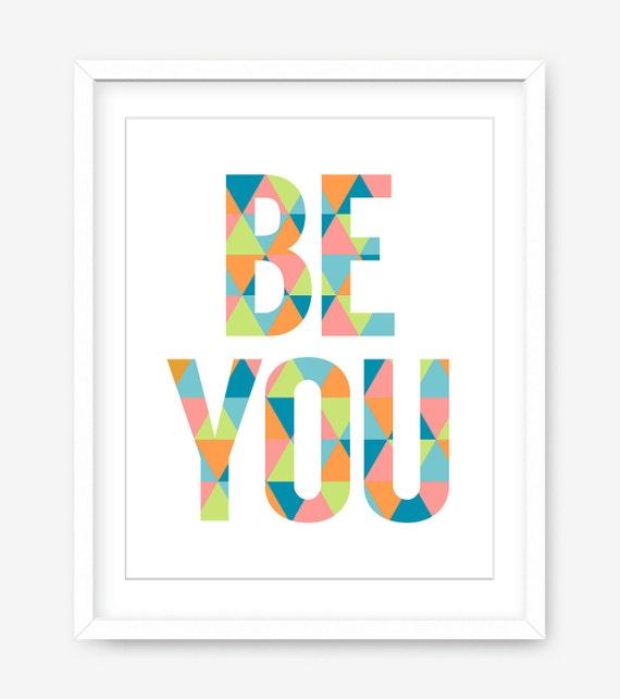 Tipografía para imprimir cita motivacional para imprimir | Etsy