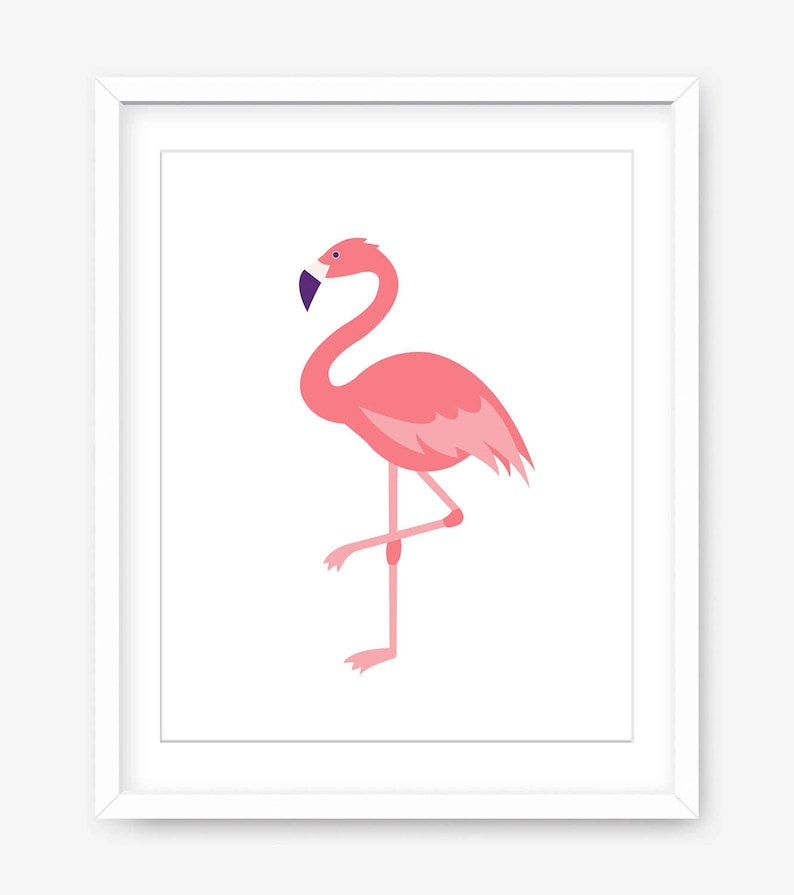 image relating to Flamingo Printable identified as Flamingo print - printable artwork - printable flamingo artwork - progressive printable poster - printable wall artwork - revolutionary wall decor -Electronic Down load