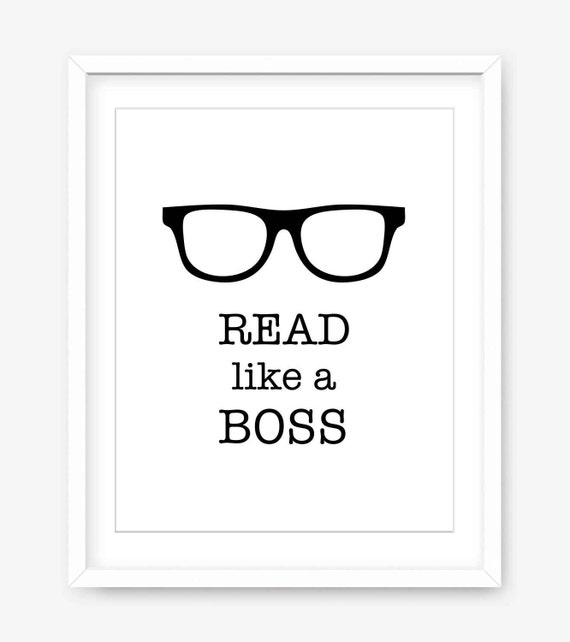 Printable Reading Quote Download Funny Quote Printable Wall Etsy
