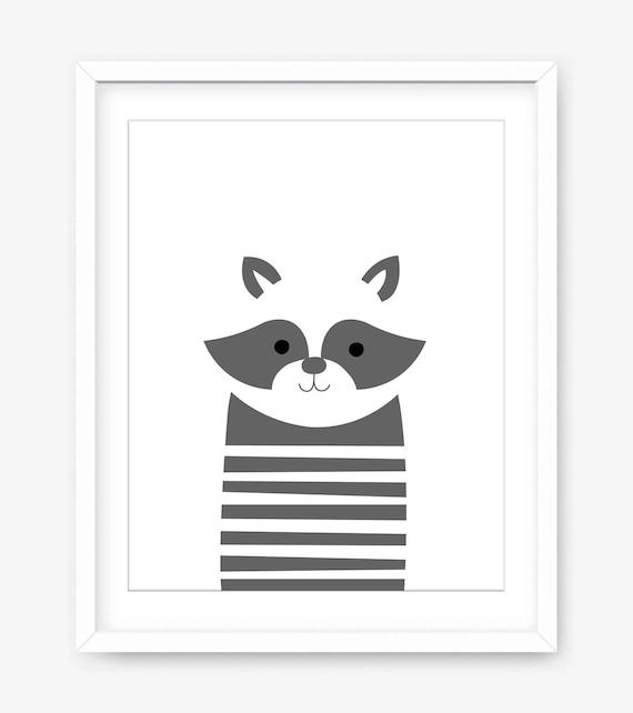 Imprimibles infantiles animales animales grabados grabado de | Etsy