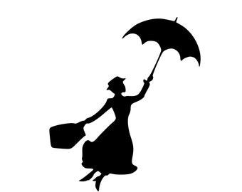 Disney | Mary Poppins Digital SVG File!