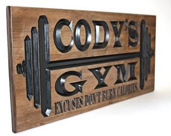 Garage gym etsy