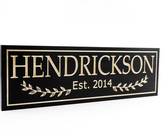 Family Sign-Wedding Sign-Marriage Sign-Custom sign-Personalized Wood Sign-Anniversary Gift-Housewarming Gift (CWD-766)