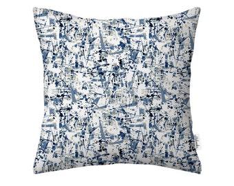 Abstract Square Pillowcase - Original Fabric Design, Size: 16x16'