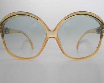 40825666058a Christian Dior France cat eyes Oversized vintage sunglasses