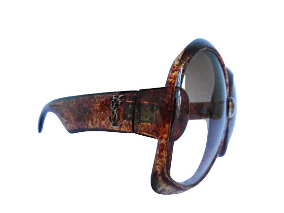 Gafas de sol Yves Saint Laurent 651 muy grandes originales de