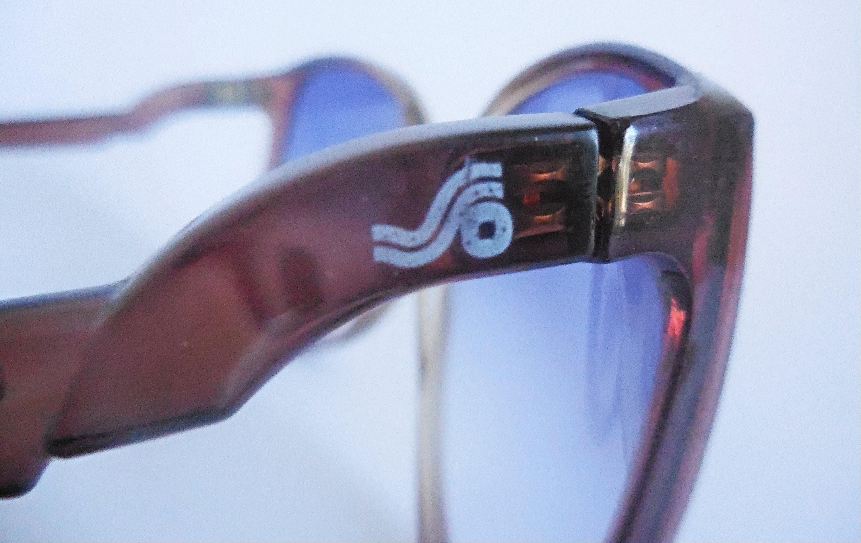 Gafas de sol originales muy grandes de los años 70 de Safilo.