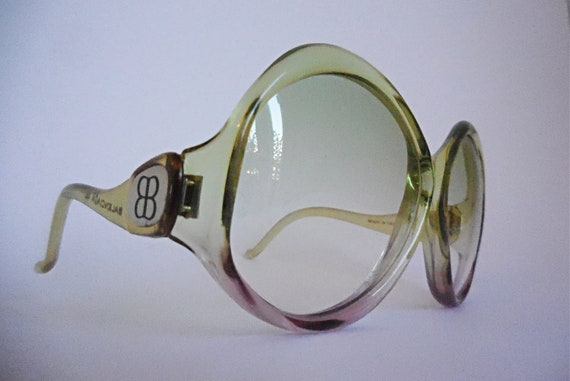 Oversized vintage Balenciaga sunglasses, 70s sungl