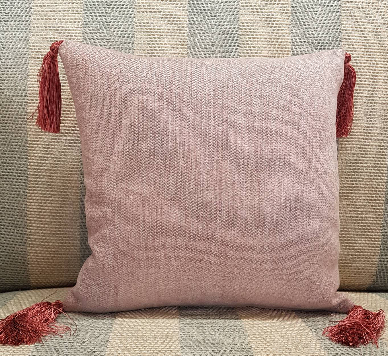 Handmade Cushion With Tassels