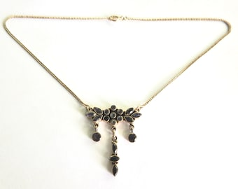 Iolite Sterling Silver Necklace