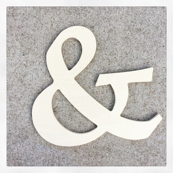 Ampersand And Symbol Weddings Anniversaries Monograms Etsy