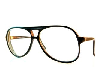 27f39521fd Vintage GIVENCHY SPORT Aviator Glasses French France Black Retro  Prescription Frames Terry Richardson Style Hipster Geek Eyewear Vintage