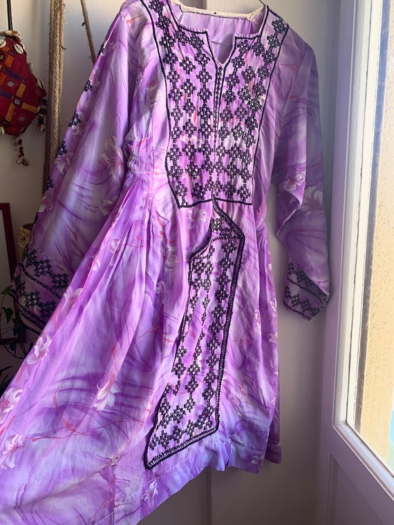 Purple Baluchi dress