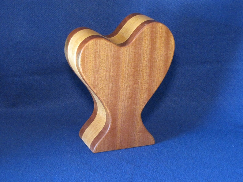Plus A Hidden Drawer For Your Special Items. Tall Heart Shaped Jewelry Box For Both Large And Small Jewelry Or Trinket Items