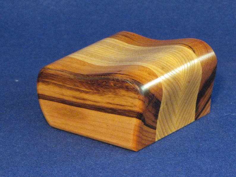 This Little Solid Wood Jewelry Box Is Great For Small Jewelry Or Gift Items.