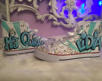 4568ad0f1fc1 Quinceanera shoes sneakers  original converse