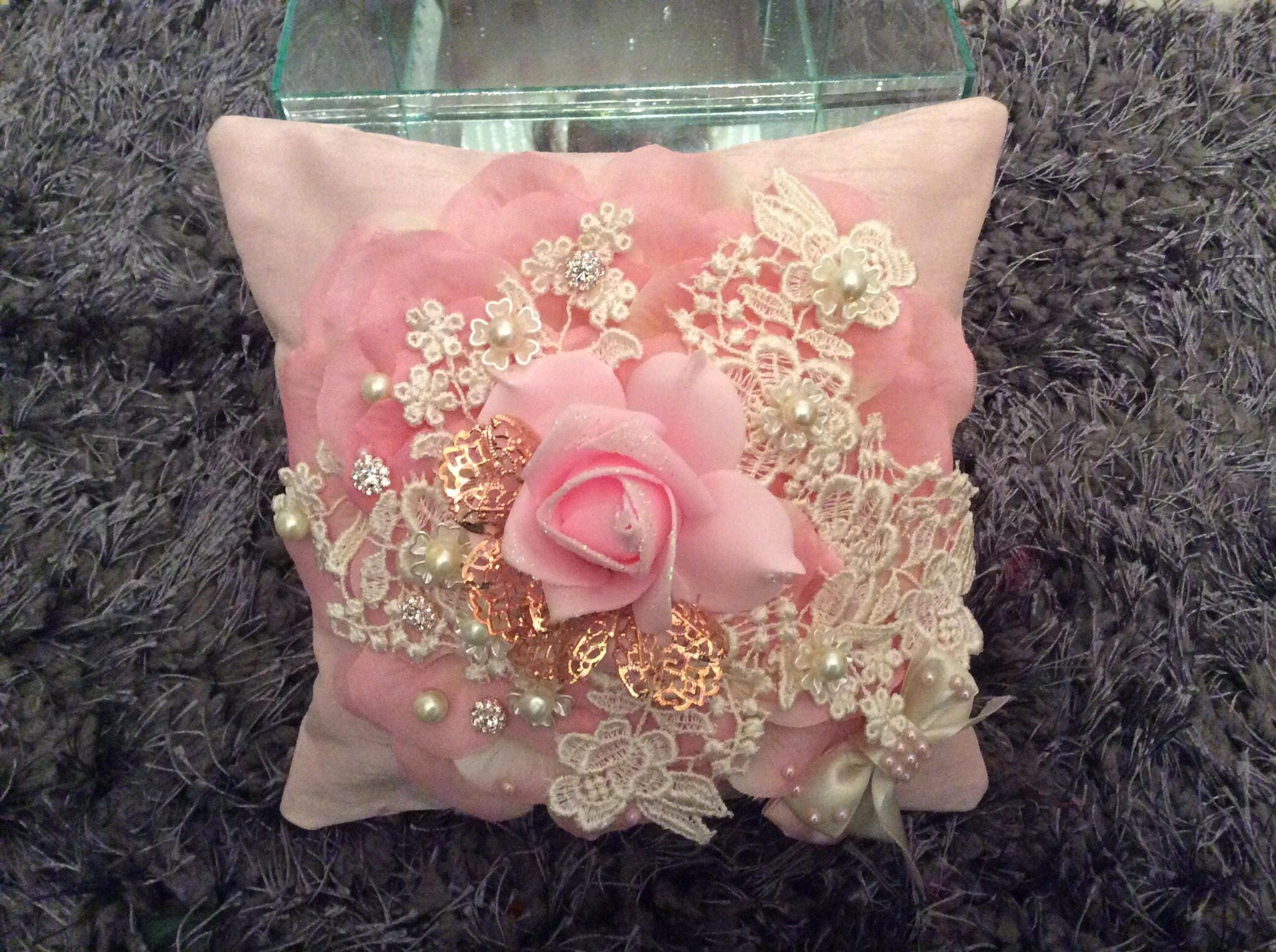 Quinceanera vintage pillow