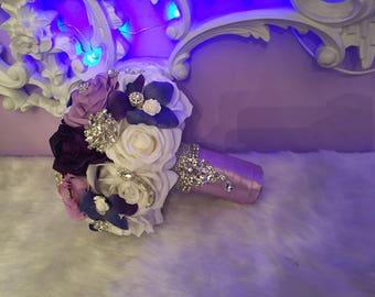 Purple lavander bouquet
