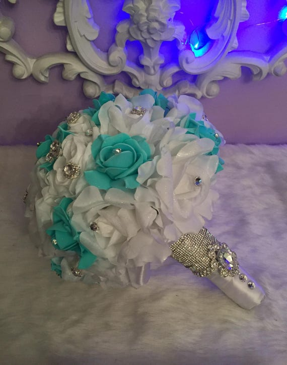 Quinceanera Flower Bouquet And Shoes | Etsy