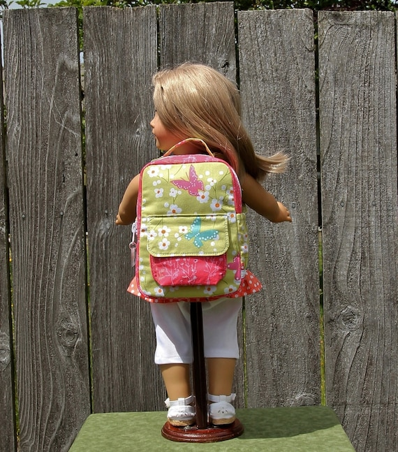 Pink /& White Bag Purse Handbag Fit For 18/'/' American Girl Dolls Clothes Gifts