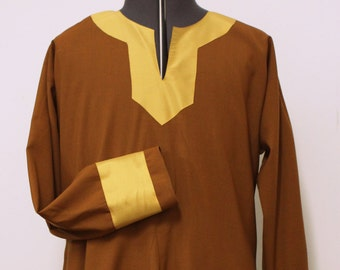 Norman Men's Thin Woolen Tunic with Silk