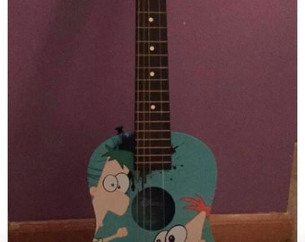 First act Phineas & Ferb childs guitar