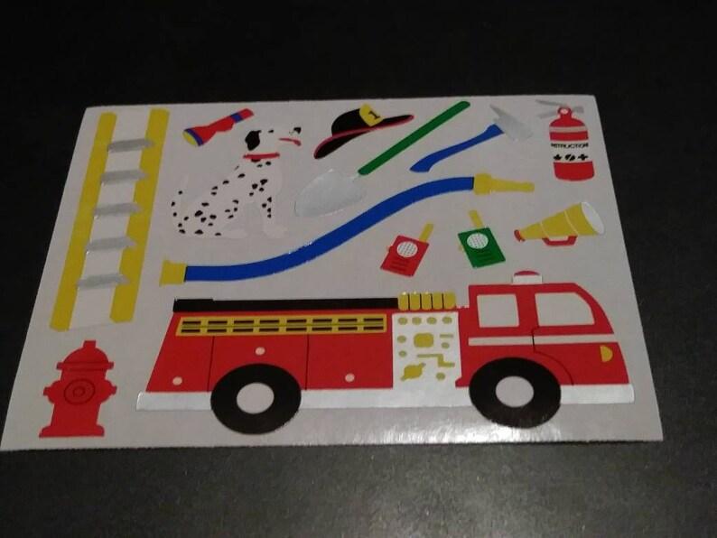 Mrs Grossman FIRE ENGINES Stickers