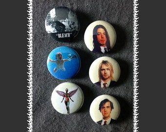 Nirvana Magnets ~ 6-pack