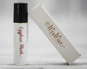 Roll On Perfume Oil - Egyptian Musk Perfume Oil - Natural Perfume Oil - Vegan Perfume Oil - Fragrance oil Perfume - Musk Perfume Oil