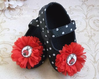 Lady Bug Birthday Outfit, Lady Bug Shoes, Lady Bug Birthday, Lady Bug 1st Birthday Outfit, 1st Birthday Lady Bug Outfit, Lady Bug Shirt