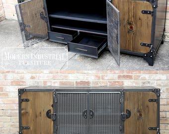 La Credenza Meaning : Modern industrial wine cabinet credenza bar storage liquor etsy