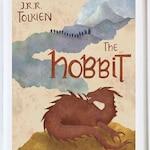 The Hobbit Nursery Print / The Hobbit Kids Print / Cute Hobbit Art Print / Hobbit Book Cover Print / Hobbit Smaug Art / Hobbit Tolkien Art