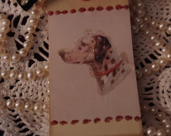 Vintage Reproduction Handmade Gift Tag