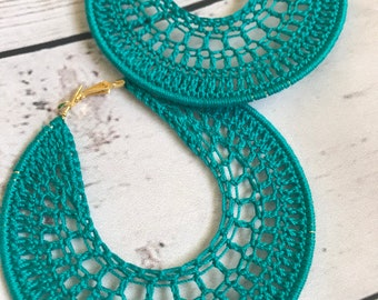 Crochet Earring Patterns Etsy
