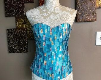 ebe6ad3110 Elsa corset elsa frozen inspired corset bodice