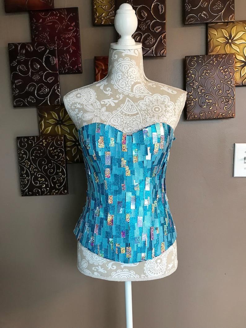 86e761a050 Elsa corset elsa frozen inspired corset bodice