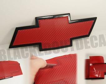 Pink Chevy Emblem Vinyl Wrap kit 2 Sheets | Etsy