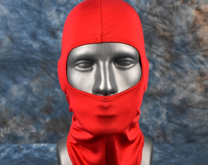 Fire Red Balaclava