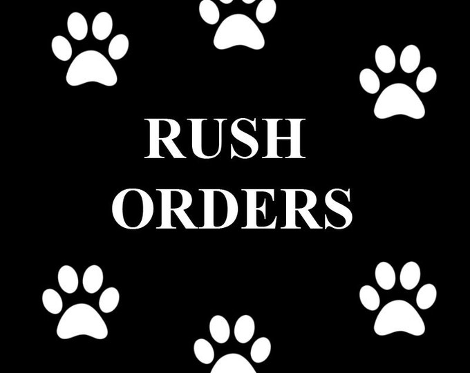 RUSH ORDER *Service Fee*