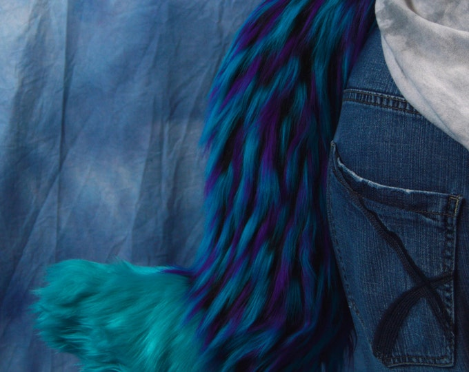 Raver Wolf Fursuit Tail